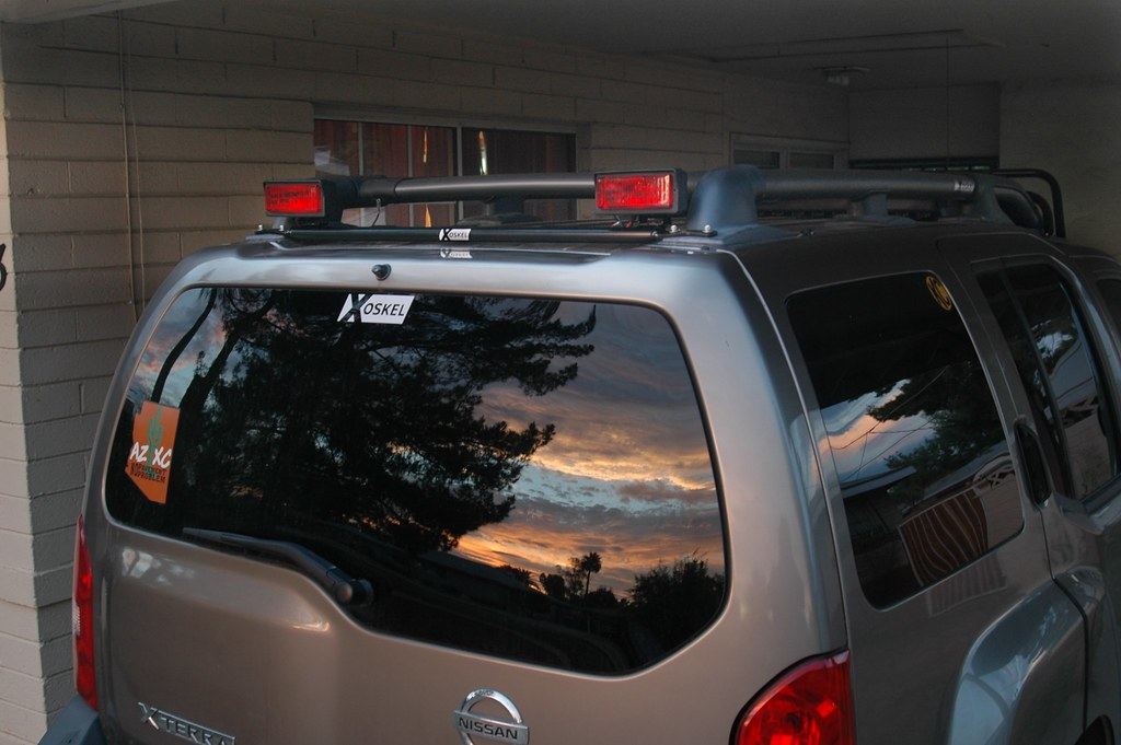 Rear Facing Lightbar - Second Generation Nissan Xterra ...