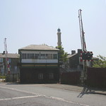 Mosque and Brierfield Railway Station-Signal Box, Lancashire