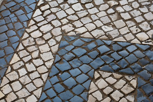 Lisbon - Sidewalk Stone Patterns