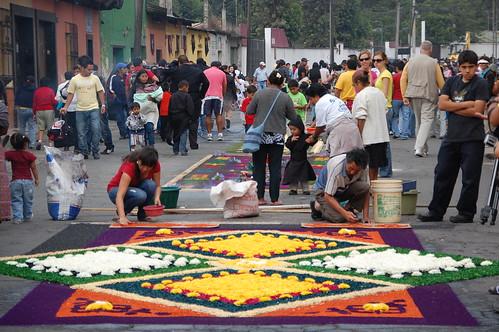 Semana santa in Antigua