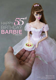 Happy Birthday Barbie. I love you.