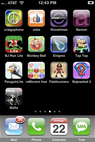 Iphone Apps Home Screen 4 Flickr Photo Sharing