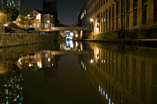 Still Water of The Castlefield Canals