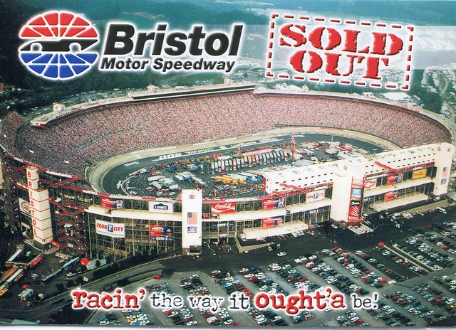 Bristol Motor Speedway Nascar Tennessee From A