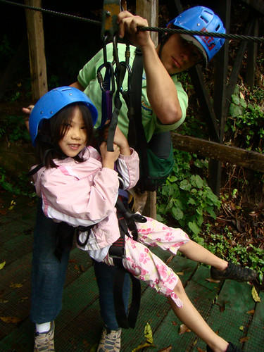 Child Costa Rica Zip Line Carpintera DSC00823