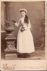 Lovely girl at Communion