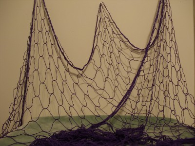 Decorative Fish Netting - Nautical Fishing Net- Purple | Flickr