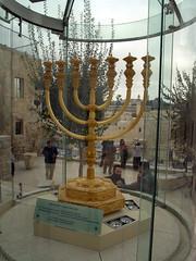 art, menorah, candle holder,