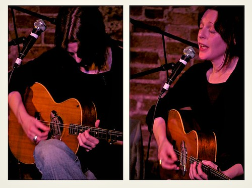 Mary Hampton at Willkommen Collective night by neate photos