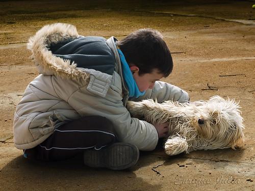 Mascotas: ¡quién fuera niño!