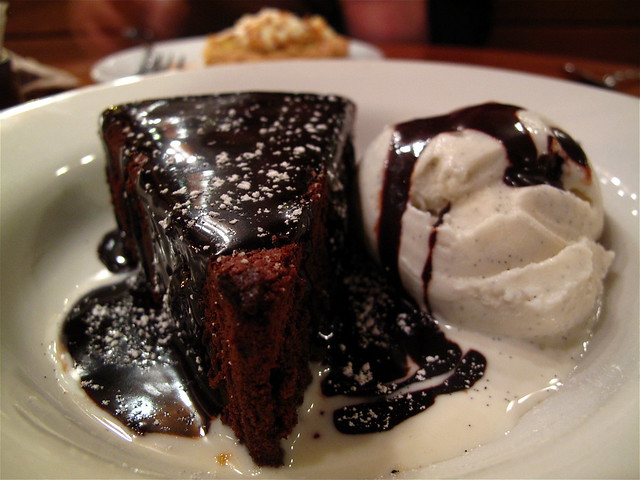 Chocolate Cake with Vanilla Ice-cream | If they run out of ...