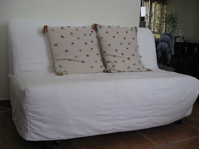 Ikea Lycksele  Seater Sofa Bed