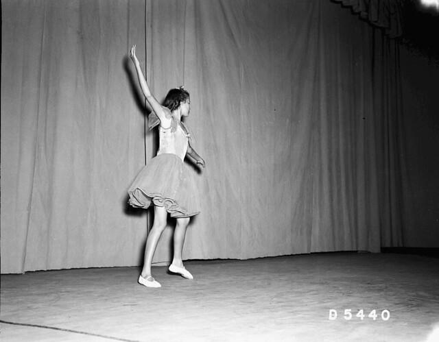 Talent Show Ballerina