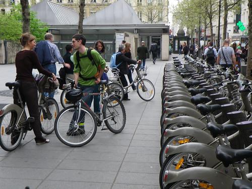 No bike parking in Paris