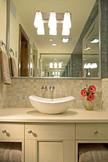 Unique Quartz Bathroom Countertops With Sink  Home Design Ideas