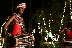 Traditional Kandyan Drumer