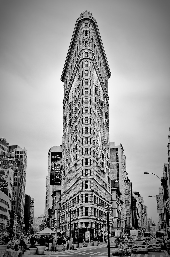 What Triangular New York Building Was The Very First Skyscraper