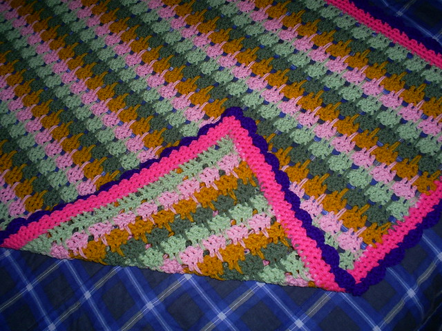 Larksfoot Crochet Baby Blanket Pattern : Crochet Larksfoot Baby Blanket 006 Flickr - Photo Sharing!