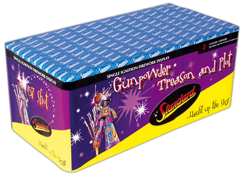 Gunpowder Treason and PLot Fireworks Barrage by Standard Fireworks