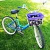 Bike Basket Liner - Sailor Jerry - Dark Purple Do you love
