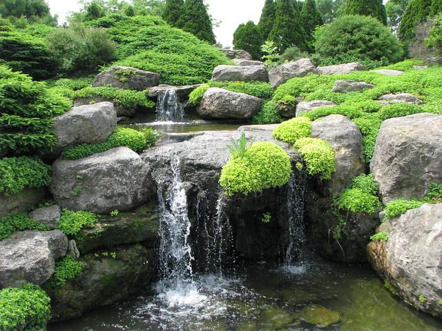 Waterfall In Rock Garden Flickr Photo Sharing