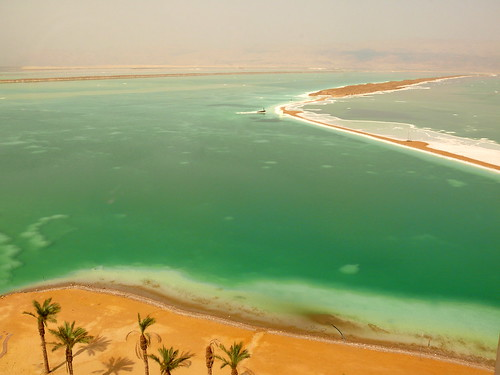 Green landscape - Dead Sea