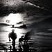Rainy silhouettes [2] by Che-burashka