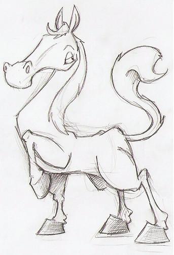 Horse sketch