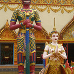 Wat Chaiyamangkalaran, Colorful Statues - Penang, Malaysia