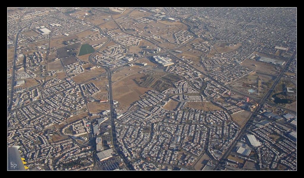 Juárez desde el aire