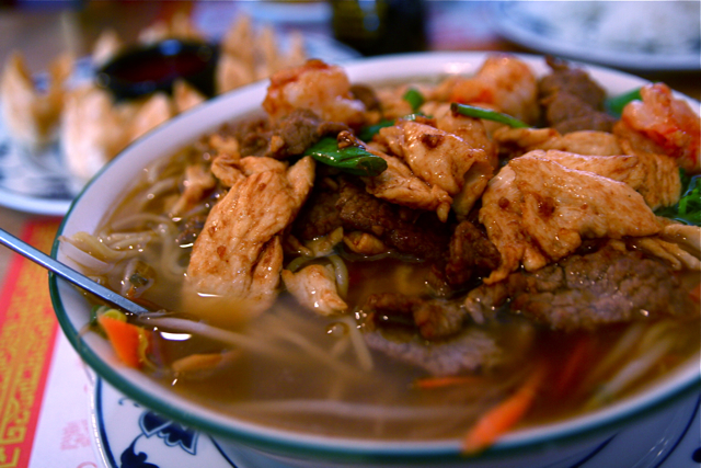 Combo Noodle Soup Chinese Food 3 25 09 4 Flickr Photo