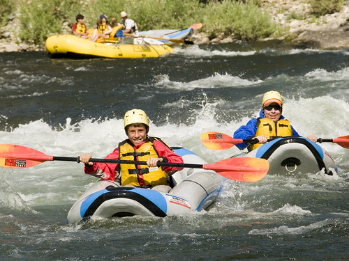 Middle Fork of the Salmon River with MTS - Duckie Race