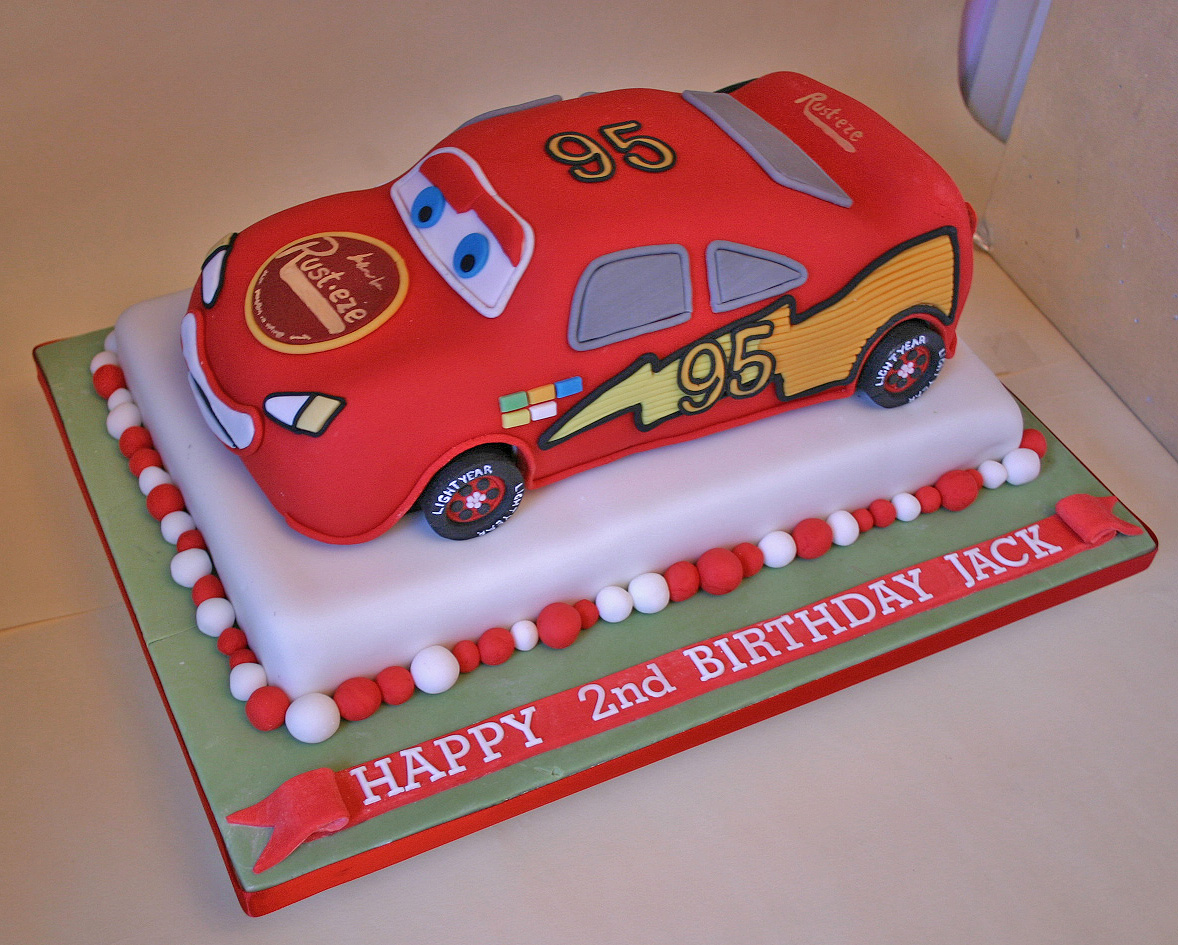 Cake Designs With Cars : Birthday Cake (214) - Lightening McQueen - a photo on ...