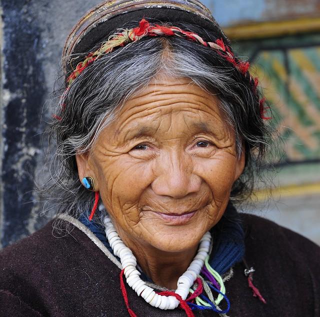 Resident of Buchu Sergyi Lhakang,Tibet