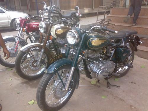Royal Enfield 350cc and 500cc
