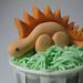 Dinosaur Birthday Cupcakes by abakedcreation