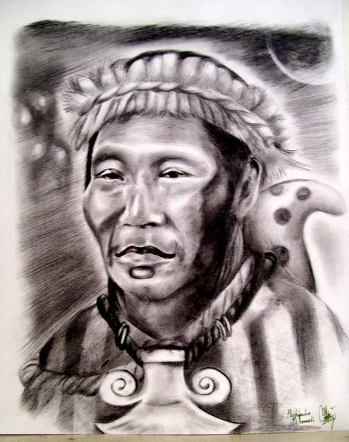 P'urhépecha Petamuti Michoacan Indigena Lider P'urhe por Carrlos Mota