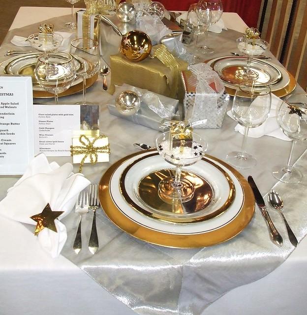 Beautiful table setting flickr photo sharing - Deco table reveillon ...