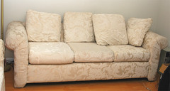 furniture, sofa bed, living room, couch, studio couch,