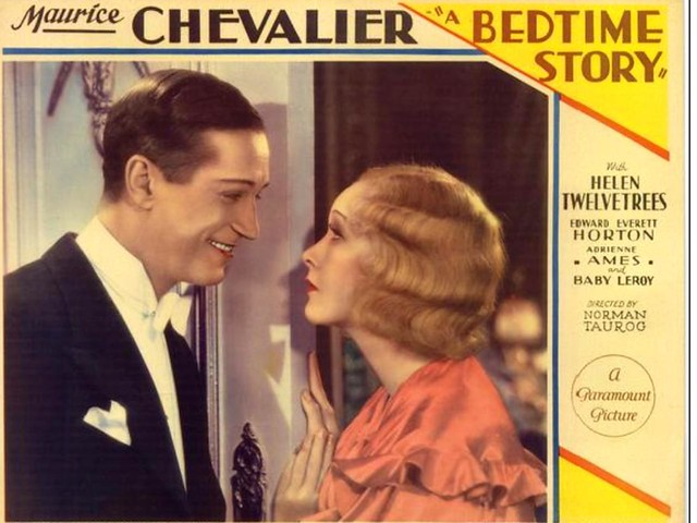 Maurice Chevalier in ''A Bedtime Story''  1933