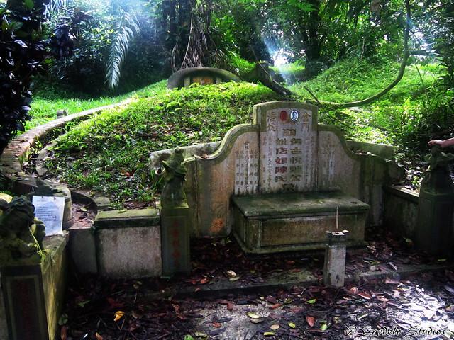 Bukit Brown - Tomb of Tay Koh Yat 01