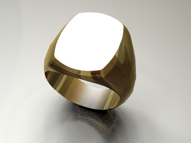 Golden signet rings for men Pictures, Images, Photos, Wallpapers