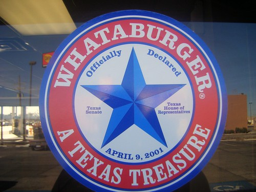 whataburger - a texas treasure