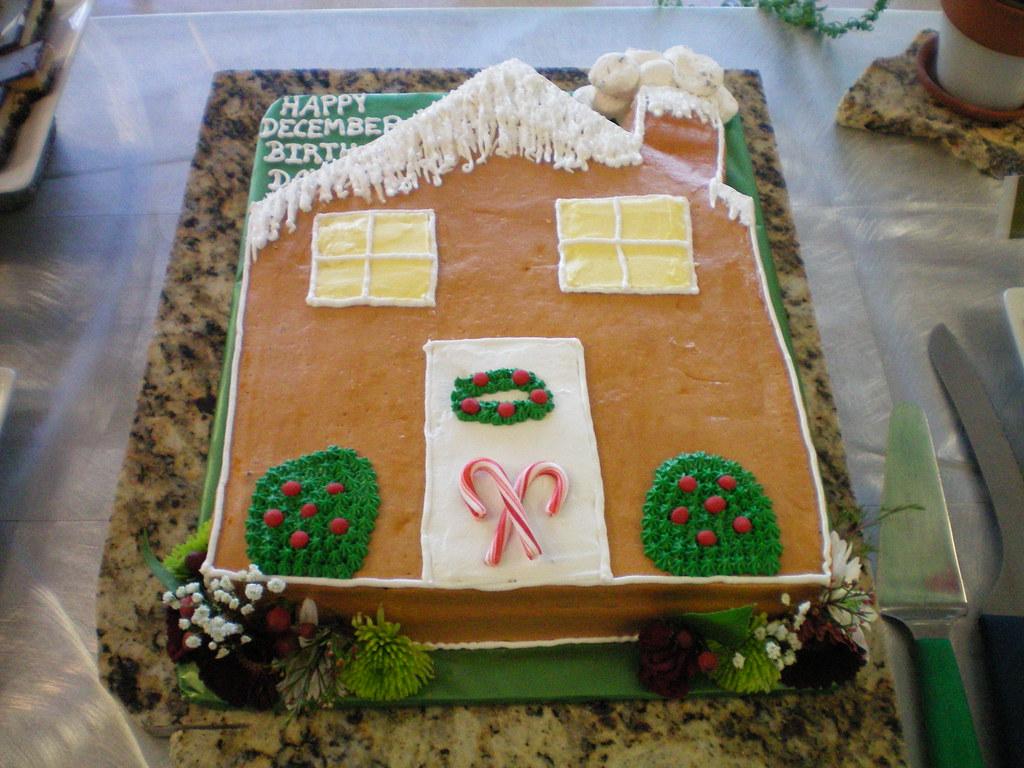 Terrific December Birthday Cake Kimberly Smith Flickr Funny Birthday Cards Online Hendilapandamsfinfo