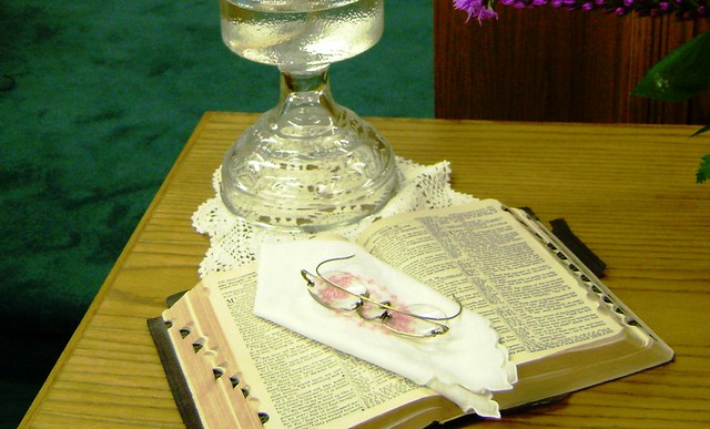 lamp and bible - photo #41
