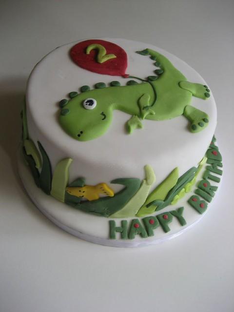 Dinosaur Cake Recipes Pictures : photo