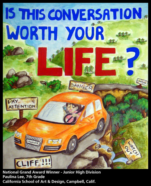 2009 Aaa Traffic Safety Poster Contest National Winners Flickr