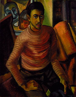 Malvin Gray Johnson: Self-Portrait, 1934