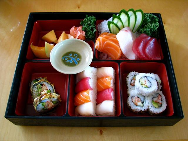 Sushi Sashimi Bento Box Flickr Photo Sharing