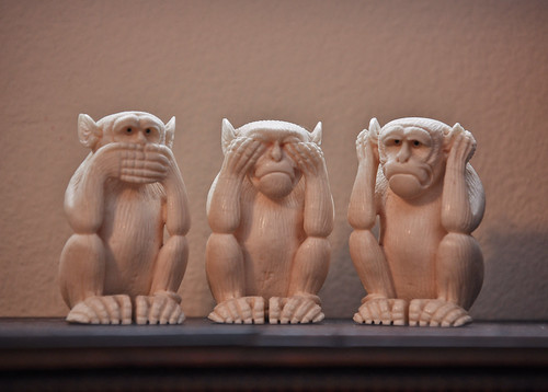 Speak No Evil, See No Evil, Hear No Evil